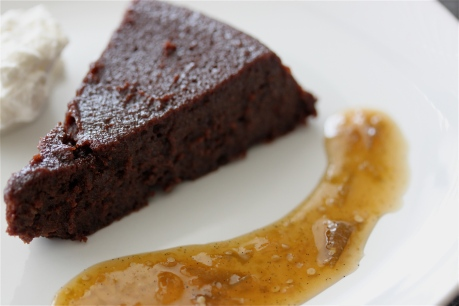 Boca Negra Chocolate Chipotle Cake